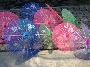 inkin - soleil et tatouage - ombrelle