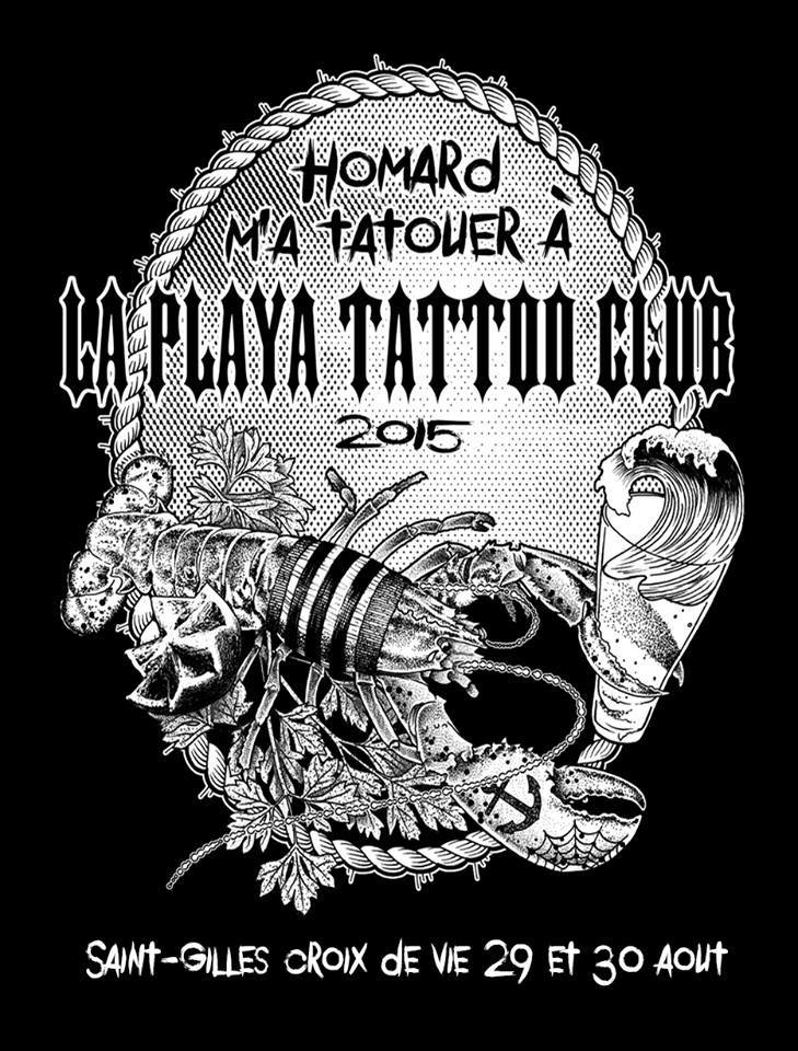 playa tattoo club - exposition tatouage 2015