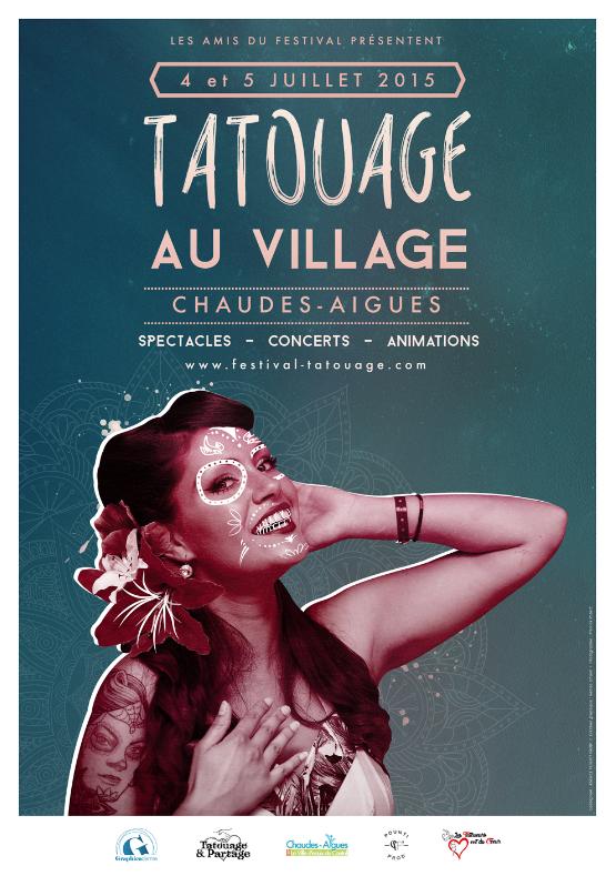 tatouage au village - Chaudes-Aigues 2015