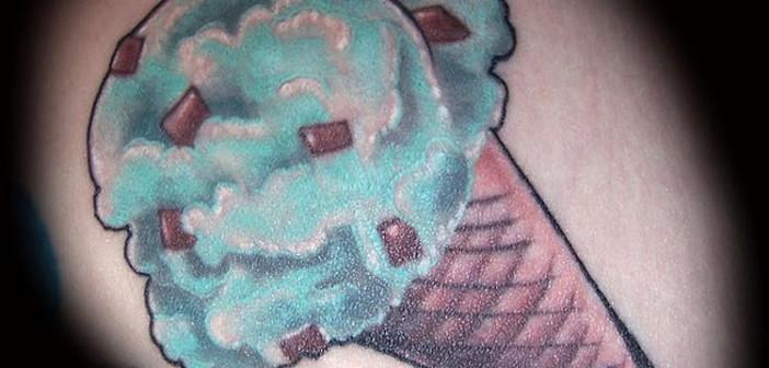 Sélection de tatouages de glaces pour lutter contre la canicule