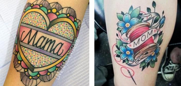 Sélection de tatouages pour la fête des mères