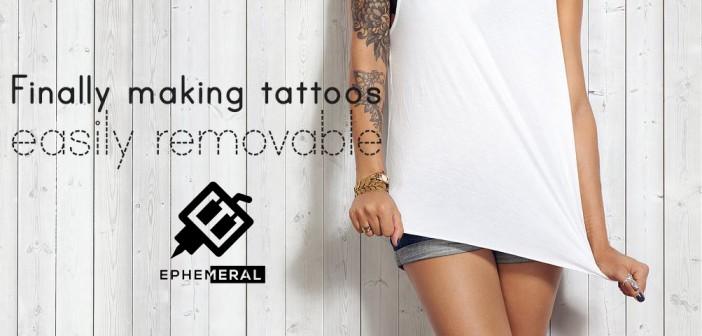 Un tatouage, mais pour un an seulement…